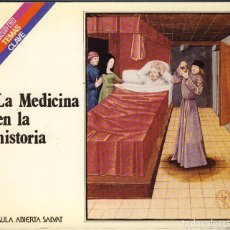 Libros de segunda mano: LA MEDICINA EN LA HISTORIA.-.AULA ABIERTA SALVAT.- MUY CURIOSO.-. Lote 137644014