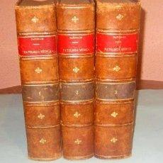 Libros de segunda mano: PATOLOGIA MEDICA M. BAÑUELOS AÑO 1941 -- 3 TOMOS . Lote 137685618