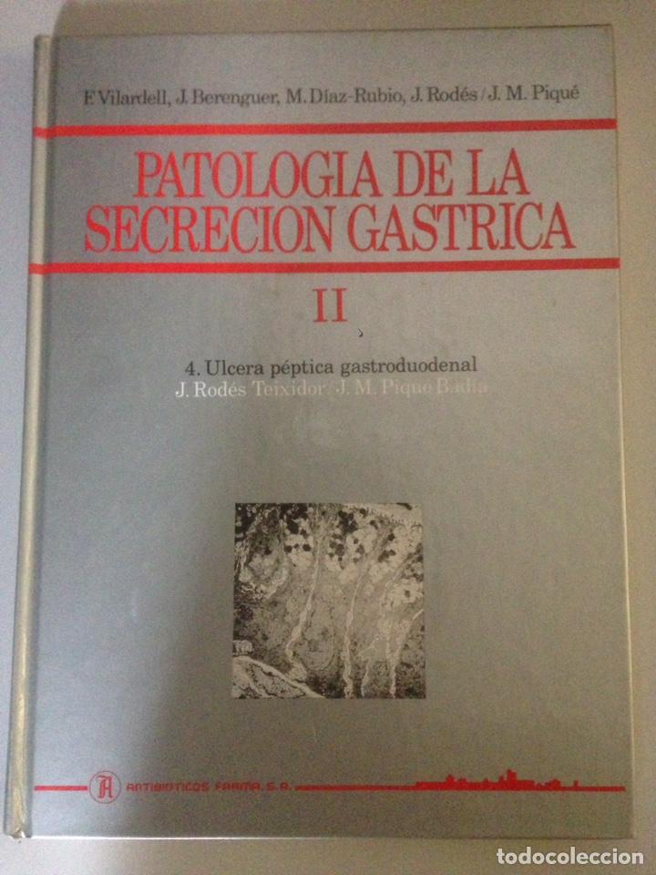 Libros de segunda mano: LOTE DE TOMOS I y II DE PATOLOGÍA DE SECRECIÓN GASTRICA - Foto 2 - 138312286
