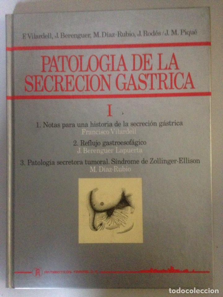 Libros de segunda mano: LOTE DE TOMOS I y II DE PATOLOGÍA DE SECRECIÓN GASTRICA - Foto 3 - 138312286