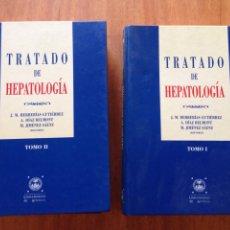Libros de segunda mano: TRATADO DE HEPATOLOGÍA TOMO I Y II. Lote 138555825