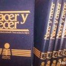 Libros de segunda mano: NACER Y CRECER. EDUCACIÓN SANITARIA INFANTIL, TODO SOBRE LOS HIJOS (6 TOMOS, COMPLETA) - ARBELO LÓPE. Lote 122500248