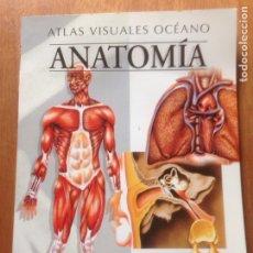 Libros de segunda mano: ATLAS VISUALES OCÉANO - ANATOMÍA. Lote 138831540