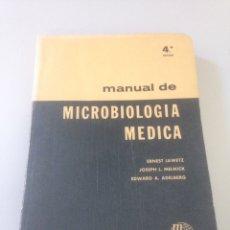 Libros de segunda mano: MANUAL DE MICROBIOLOGIA MEDICA. Lote 139051301