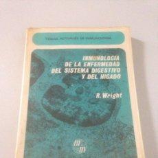 Libros de segunda mano: INMUNOLOGÍA DE LA ENFERMEDAD DEL SISTEMA DIGESTIVO Y DEL HÍGADO. Lote 139098261