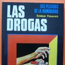 Libros de segunda mano: LAS DROGAS - ESTEBAN PEICOVICH - FORMA EDICIONES - 1977 - NUEVO. Lote 139109842