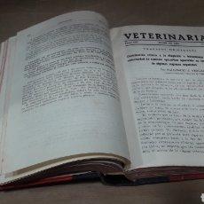 Libros de segunda mano: VETERINARIA TRABAJOS ORIGINALES AÑO 1944 COMPLETO. Lote 139230010