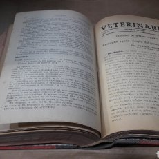 Libros de segunda mano: VETERINARIA TRABAJOS ORIGINALES AÑO 1945 COMPLETO. Lote 139232680
