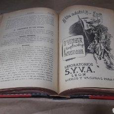 Libros de segunda mano: VETERINARIA TRABAJOS ORIGINALES AÑO 1946 COMPLETO. Lote 139232905