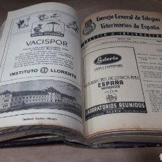 Libros de segunda mano: BOLETIN COLEGIO VETERINARIOS 1947 - 1949. Lote 139234006