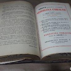 Libros de segunda mano: VETERINARIA COMENTARIOS ACTUALIDADES TRABAJOS TRADUCIDOS AÑO 1953 COMPLETO. Lote 139239712