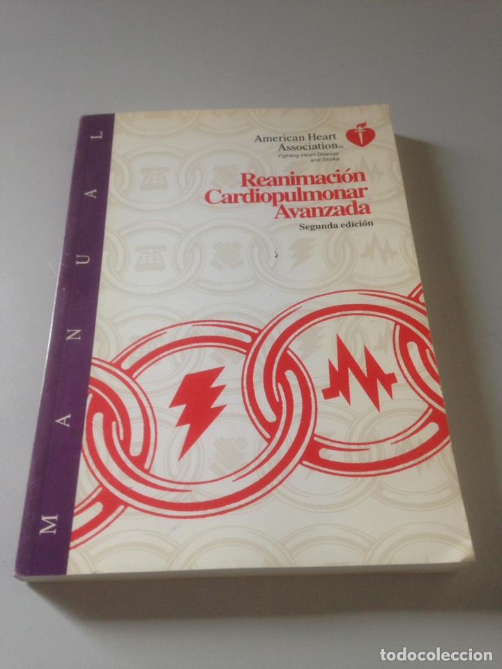 REANIMACIÓN CARDIOPULMONAR AVANZADA - VVAA (Libros de Segunda Mano - Ciencias, Manuales y Oficios - Medicina, Farmacia y Salud)