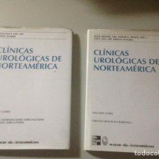 Libros de segunda mano: LOTE CLÍNICAS UROLÓGICAS DE NORTEAMÉRICA. Lote 139405537