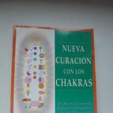 Libros de segunda mano: NUEVA CURACIÓN CON LOS CHAKRAS. CYNDI DALE. Lote 140491978