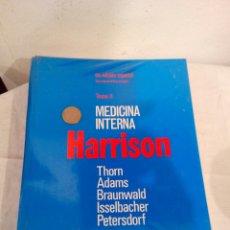 Libros de segunda mano: LIBRO MEDICINA INTERNA HARRISON AÑOS 80. Lote 140651788