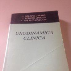 Libros de segunda mano: URODINAMICA CLÍNICA. Lote 140814621