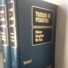 Libros de segunda mano: TRATADO DE PEDIATRÍA I Y II. Lote 140891518