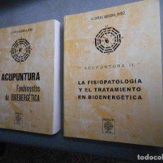 Libros de segunda mano: ACUPUNTURA. FUNDAMENTOS DE BIOENERGETICA. Lote 141329722