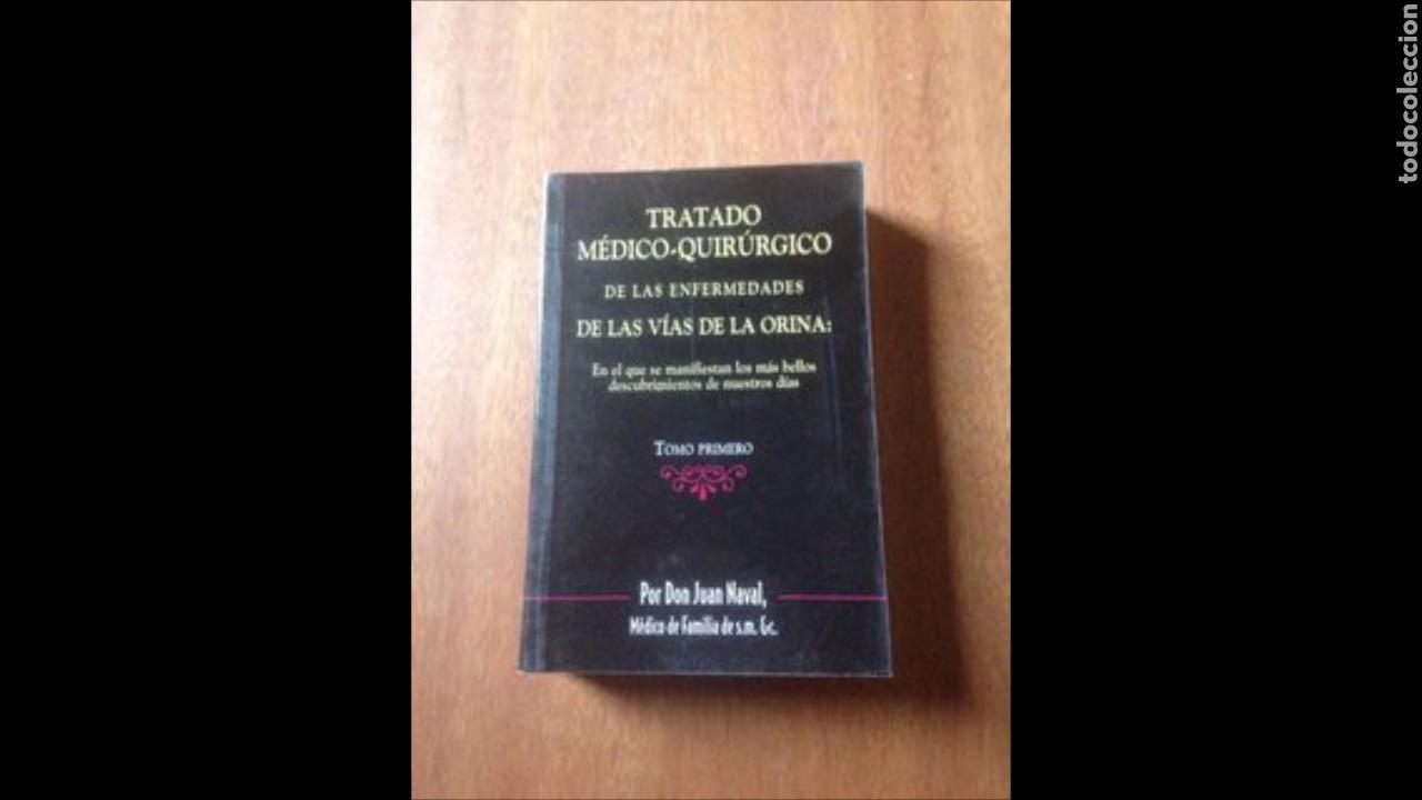 TRATADO MEDICO QUIRÚRGICO DE LAS ENFERMEDADES DE LAS VÍAS DE LA ORINA (Libros de Segunda Mano - Ciencias, Manuales y Oficios - Medicina, Farmacia y Salud)