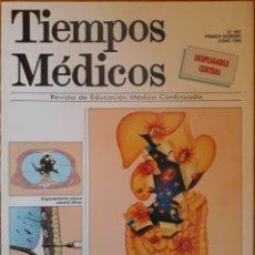 Libros de segunda mano: REVISTA N°461 TIEMPOS MÉDICOS 1992. Lote 142178316