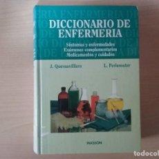 Libros de segunda mano: DICCIONARIO DE ENFERMERÍA 1996 J. QUEVAUVILLIERS / L. PERLEMUTER . Lote 142232798