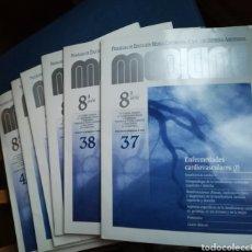 Libros de segunda mano: ENFERMEDADES CARDIOVASCULARES. SEIS EJEMPLARES DE LA REVISTA MEDICINE NÚMEROS DEL 37 AL 42. Lote 142589144