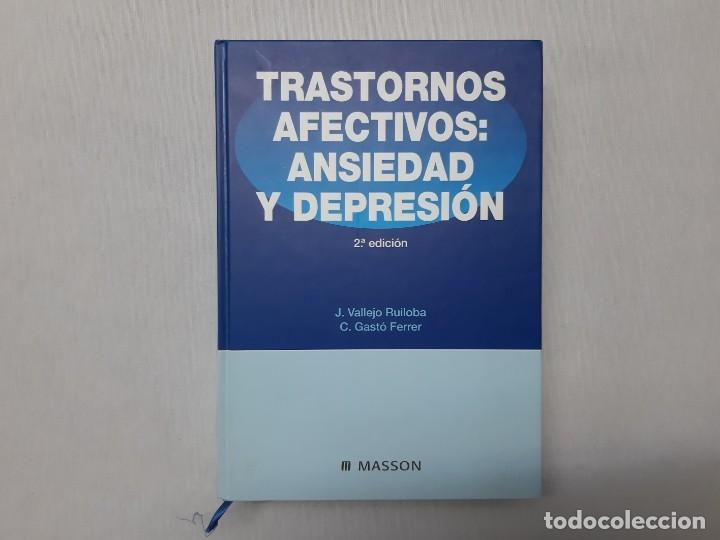 TRASTORNOS AFECTIVOS - FERRER, CRISTÓBAL GASTÓ (Libros de Segunda Mano - Ciencias, Manuales y Oficios - Medicina, Farmacia y Salud)