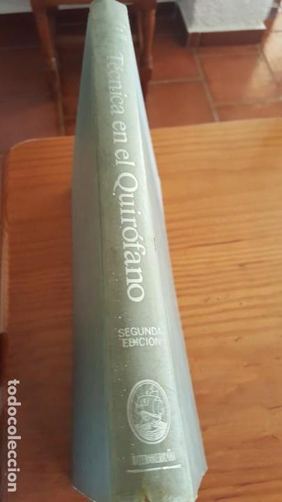 Libros de segunda mano: TECNICA EN EL QUIROFANO-MANUAL PARA PERSONAL DE SALA DE OPERACIONES. MARY ELLEN YEAGER. 2ª EDICION. - Foto 8 - 142746726