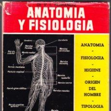 Libros de segunda mano: M - ANATOMIA Y FISIOLOGIA - VICENTE L FERRANDIZ - MEDICINA NATURAL - 1973. Lote 142757434