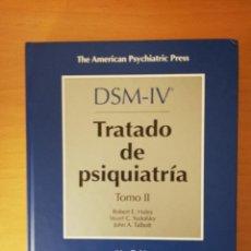 Libros de segunda mano: DSM - IV TRATADO DE PSIQUIATRIA TOMO II (VV. AA.) MASSON - INCLUYE CD -. Lote 143048970