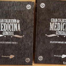 Libros de segunda mano: GRAN COLECCIÓN DE MEDICINA GENERAL / GUÍA DE ENFERMADES COMUNES / 2 TOMOS DE LUJO / OCASIÓN !. Lote 143155358