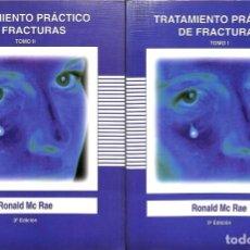 Libros de segunda mano: TRATAMIENTO PRÁCTICO DE FRACTURAS TOMO 1 Y 2.. Lote 143164133