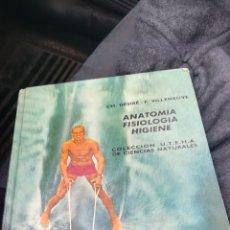 Libros de segunda mano: ANATOMÍA, FISIOLOGÍA, HIGIENE, 1 EDICIÓN DE 1965. Lote 144089740