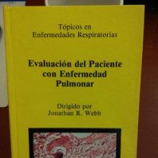Libros de segunda mano: STQ.JONATHAN R. WEBB.EVALUACION DEL PACIENTE CON ENFERMEDAD PULMONAR.EDT, SANED.BRUMART TU LIBRERIA. Lote 144240822