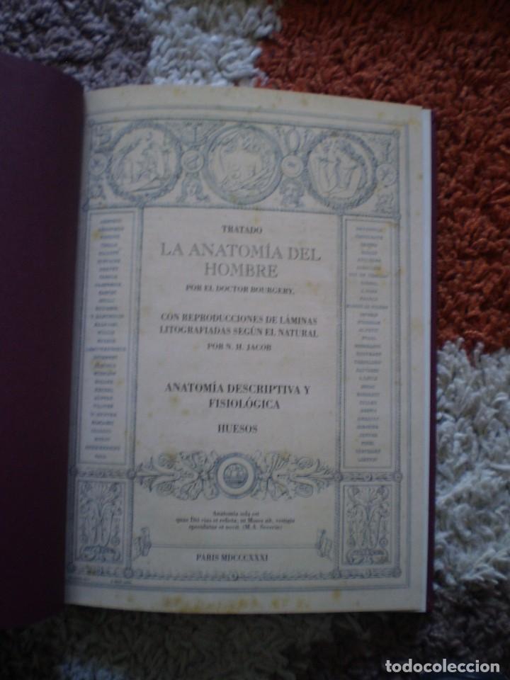 Libros de segunda mano: TRATADO ANATOMIA HOMBRE. DOCTOR BOURGERY PARIS 1831. FACSIMIL. HUESOS - Foto 2 - 144340902