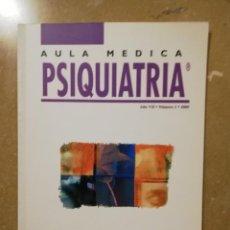 Libros de segunda mano: AULA MEDICA PSIQUIATRIA (AÑO VII, Nº 1, 2005) TRASTORNOS NEURÓTICOS (C. GASTÓ). Lote 144606382