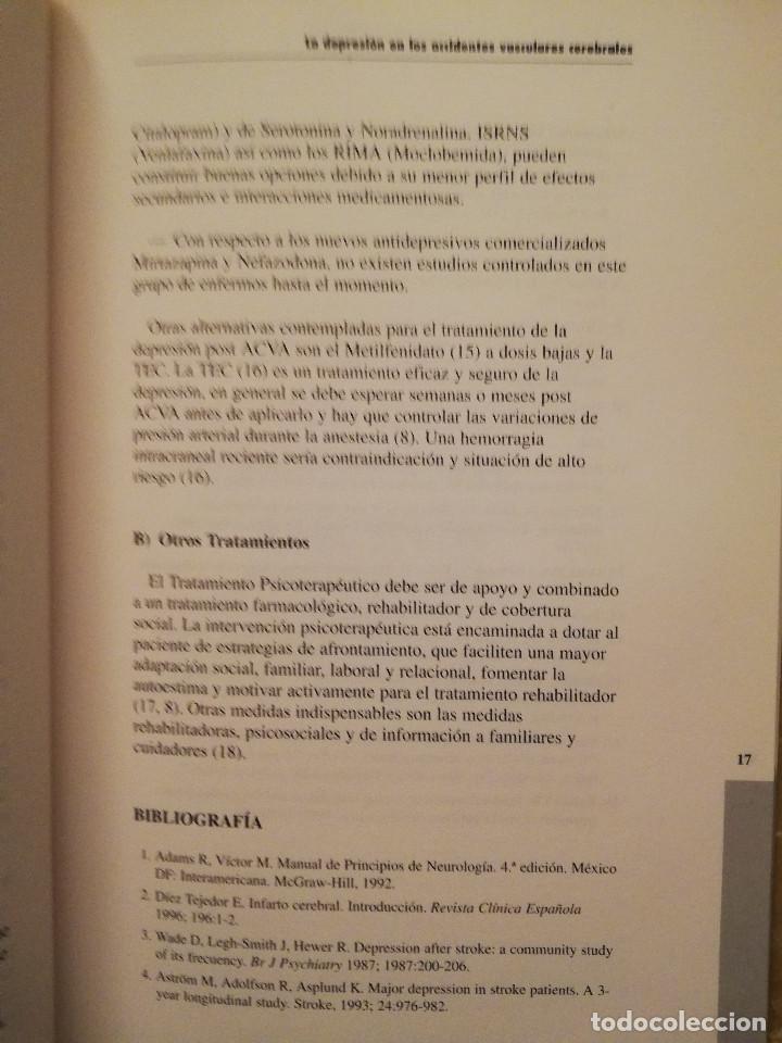 Libros de segunda mano: AULA MEDICA PSIQUIATRIA Nº 1 (2000) NEUROPSIQUIATRIA / TRASTORNOS AFECTIVOS / TRASTORNOS NEURÓTICOS - Foto 7 - 144850070