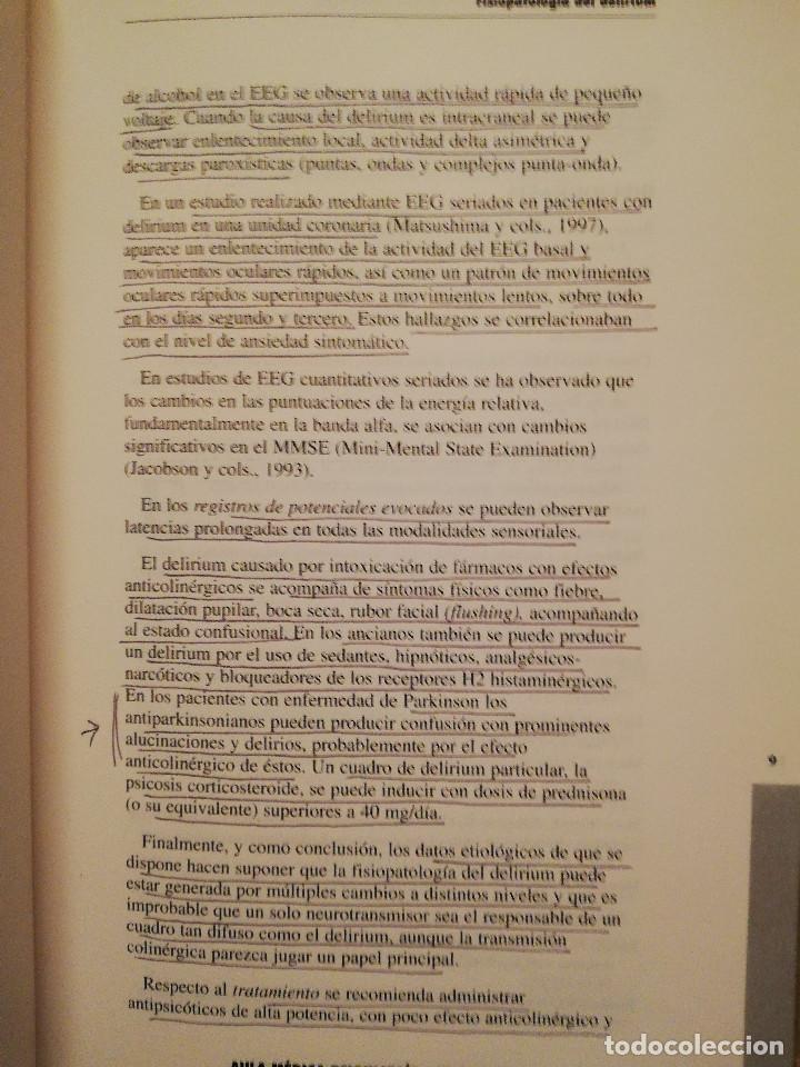 Libros de segunda mano: AULA MEDICA PSIQUIATRIA Nº 1 (2000) NEUROPSIQUIATRIA / TRASTORNOS AFECTIVOS / TRASTORNOS NEURÓTICOS - Foto 8 - 144850070