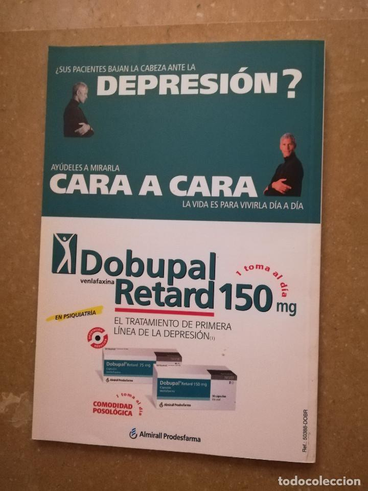 Libros de segunda mano: AULA MEDICA PSIQUIATRIA Nº 1 (2000) NEUROPSIQUIATRIA / TRASTORNOS AFECTIVOS / TRASTORNOS NEURÓTICOS - Foto 10 - 144850070