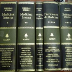 Libros de segunda mano: MEDICINA INTERNA - DE URGENCIA - ENFERMERÍA PRÁCTICA - DICCIONARIO MEDICINA,EDIT. MARIN, 5 VOL.. Lote 144965614