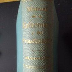 Libros de segunda mano: MANUAL DE LA ENFERMERA Y DEL PRACTICANTE. POR M. USANDIZAGA. TOMO II. SÉPTIMA EDICIÓN. EDITORIAL MAY. Lote 145320317