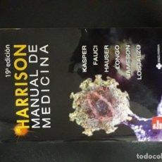 Libri di seconda mano: HARRISON. MANUAL DE MEDICINA. Lote 145883190
