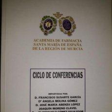 Libros de segunda mano: ACTA CONFERENCIA MEDICINA ACADEMIA FARMACIA SANTA MARIA ESPAÑA, CIEZA 2008 CARTAGENA EMBRIÓN INSTRUM. Lote 145997238