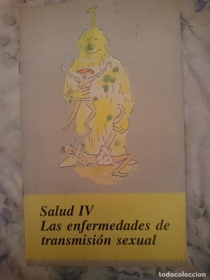 SALUD IV LAS ENFERMEDADES DE TRANSMISSION SEXUAL - AÑO 1990 - 24 PAGINAS (Libros de Segunda Mano - Ciencias, Manuales y Oficios - Medicina, Farmacia y Salud)
