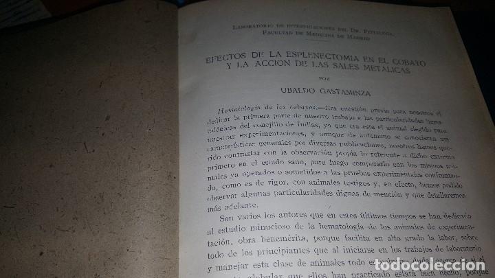 Libros de segunda mano: Archivos de cardiologia y hematologia 1933 - Foto 2 - 146683318