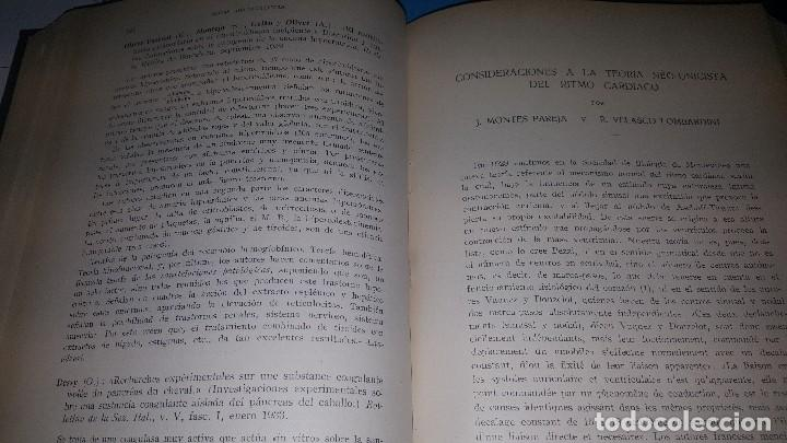 Libros de segunda mano: Archivos de cardiologia y hematologia 1933 - Foto 8 - 146683318
