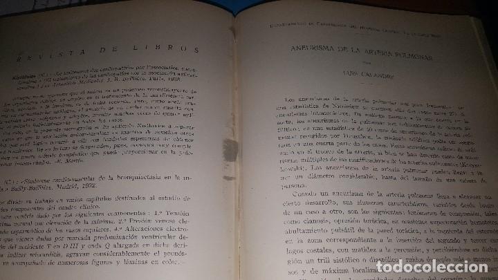 Libros de segunda mano: Archivos de cardiologia y hematologia 1933 - Foto 10 - 146683318