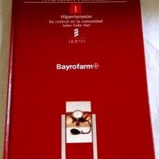 Libros de segunda mano: HIPERTENSIÓN, SU CONTROL EN LA COMUNIDAD; JULIAN TUDOR HART - EDICIONES DOYMA 1988. Lote 147077238