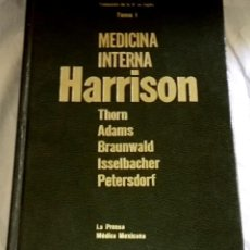 Libros de segunda mano: MEDICINA INTERNA HARRISON, TOMO I - LA PRENSA MÉDICA MEXICANA 1979. Lote 147083018