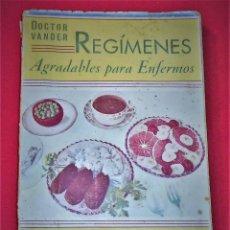 Libros de segunda mano: LIBRO REGIMES AGRADABLES PARA ENFERMOS 300 RECETAS. Lote 147090442